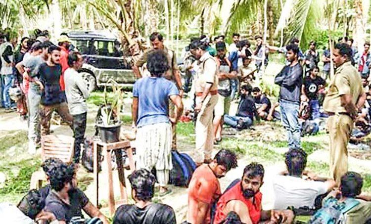 dj party, students, tamilnadu, ie malayalam