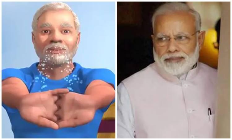 Narendra Modi Yoga Video, Yoga day