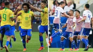 Copa America 2019, കോപ്പ അമേരിക്ക, Brazil, ബ്രസീല്, Football, ഫുട്ബോള്, Paraguay, പരാഗ്വേ