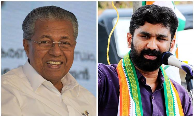 Pinarayi Vijayan and VT Balram China Legislative Assembly