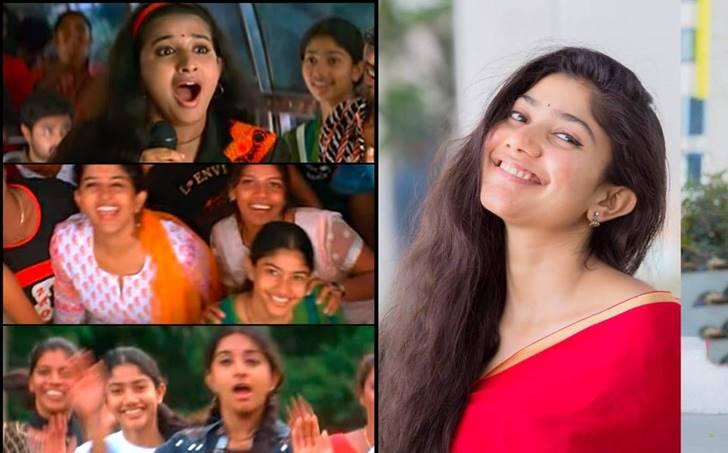 Sai Pallavi in Meera Jasmine's Kasthuri Maan-അന്ന് മീരാ ജാസ്മിന് പിന്നില്  ഡാന്സ് കളിച്ച പെണ്കുട്ടി ഇന്ന് തെന്നിന്ത്യന് സൂപ്പര്താരം