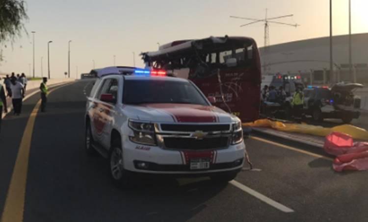 Bus Accident, ബസ് അപകടം, 17 Death, 17 മരണം, Bus accident in Dubai, ദുബായിൽ ബസ് അപകടം, 10 Indians, 10 ഇന്ത്യക്കാർ, 6 Keralites, 6 മലയാളികൾ, iemalayalam, ഐഇ മലയാളം