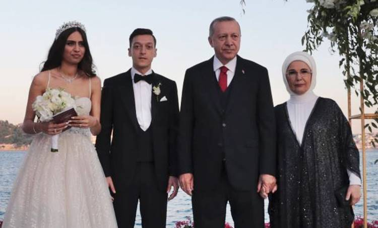 Mezut Ozil, മെസൂട്ട് ഓസില്, Wedding, വിവാഹം, Football, ഫുട്ബോള്, Tayyip Erdogan, തയ്യിപ് എര്ദോഗന്, ie malayalam