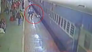 Train, ട്രെയിന്, Odisha, ഒഡീഷ, cctv, സിസിടിവ, viral video, വൈറല് വീഡിയോ, accident