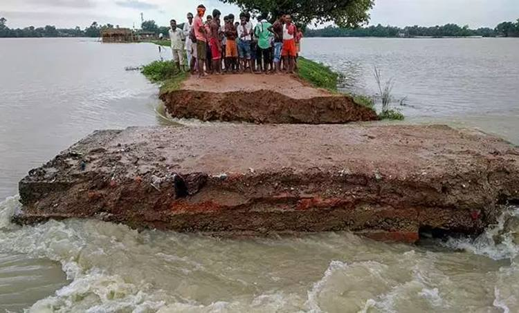 Heavy Rain Flood Bihar