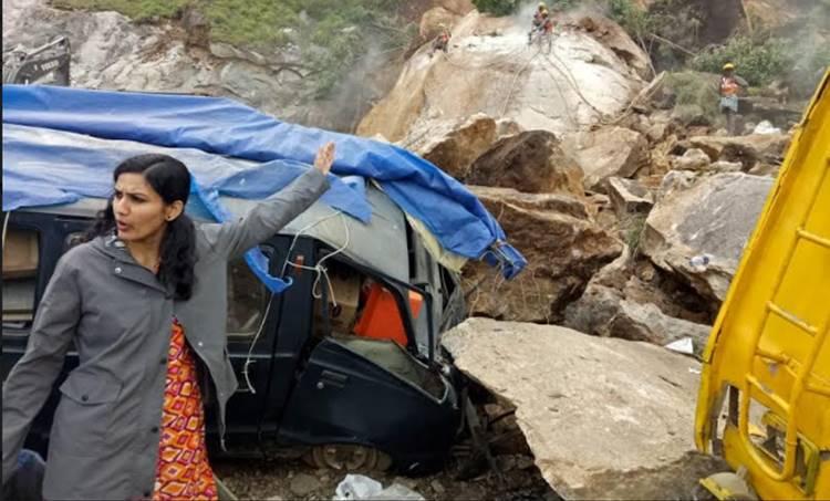 Munnar, മൂന്നാർ, Road to Munnar, മൂന്നാറിലേക്കുള്ള റോഡ്,Gap Road, Landslide, ie malayalam,