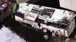 Yamuna Expressway accident, അപകടം, Yamuna Expressway bus accident, യമുന എക്സപ്രസ്വേ, Yamuna Expressway road accident, agra bus accident, ie malayalam, ഐഇ മലയാളം