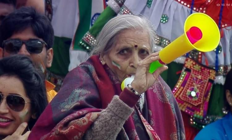 india vs bangladesh, ഇന്ത്യ - ബംഗ്ലാദേശ്, grand mother, fan celebration, ആരാധകർ, അമ്മൂമ്മ, ie malaylam, ഐഇ മലയാളം