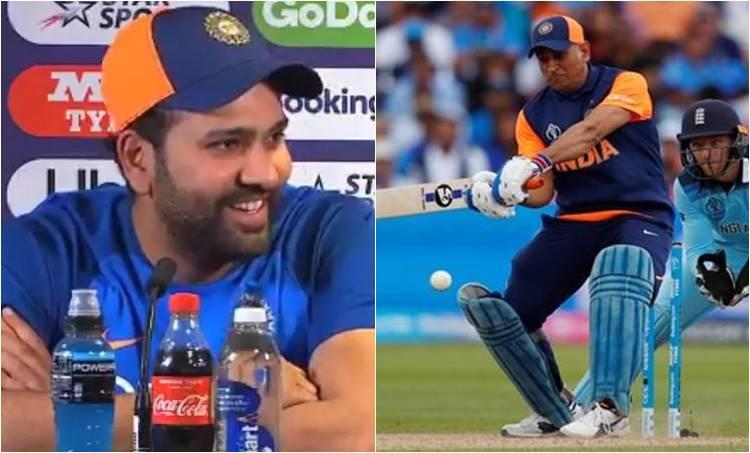 Rohit Sharma, രോഹിത് ശർമ്മ,MS Dhoni,എംഎസ് ധോണി, Dhoni Retirement, , india vs new zealand world cup, ഇന്ത്യ- ന്യൂസിലൻഡ്, cricket score, world cup score, ind score, nz score, സെമിഫൈനൽ, india vs new zealand world cup 2019, ലോകകപ്പ്, india vs new zealand world cup, india vs new zealand match date, india vs new zealand world cup 2019, india vs new zealand live streaming world cup 2019, india vs new zealand live streaming, india vs new zealand live streaming 2019, india vs new zealand live streaming match, ie malayalam, ഐഇ മലയാളം
