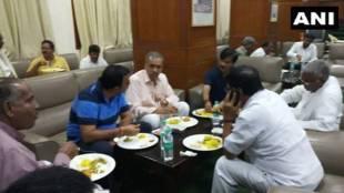 """Congress Orders Dinner For BJP """"Friends"""" On Karnataka Protest Sleepover"""