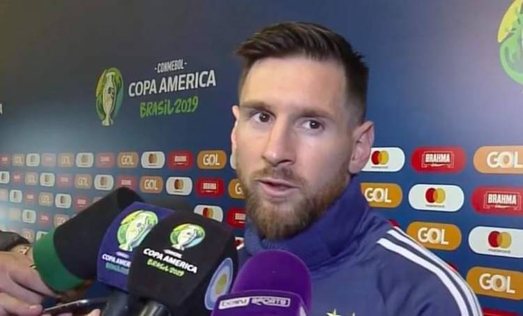 messi,lionel messi, മെസി, Copa America 2019, copa america brazil, champions, കോപ്പ അമേരിക്ക, Lionel Messi, ലയണൽ മോസി, Brazil Copa America Argentina BEAT Chile Red card for Messi, ie malayalam, ഐഇ മലയാളം