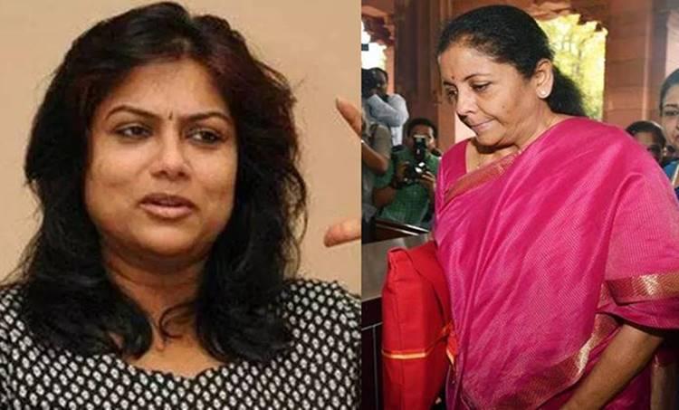 ranjini, രഞ്ജിനി, Union Budget 2019, കേന്ദ്ര ബജറ്റ് 2019, nirmala sitharaman, നിര്മല സീതാരാമന്, facebook, ഫെയ്സ്ബുക്ക്