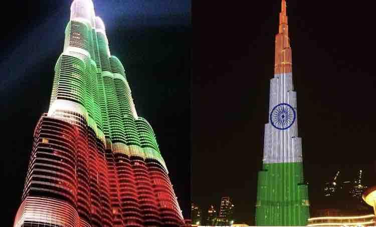 burj khalifa, burj khalifa laser show, burj khalifa laser show timings, burj khalifa indian flag, ബുർജ് ഖലീഫ ഇന്ത്യൻ പതാക