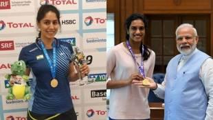 mansi joshi, മാന്സി ജോഷി,Para Badminton World Champion, പാരാ ബാഡ്മിന്റണ് ലോക ചാംപ്യന്,PV SIndhu, പിവി സിന്ധു,SIndhu Mansi, Modi Sindhu, Mansi Modi, ie malayalam,