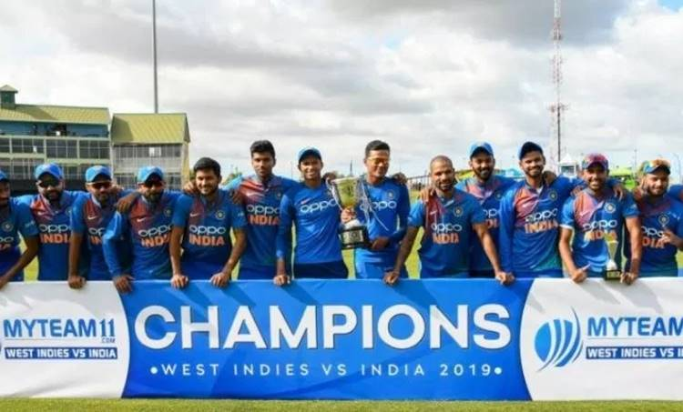 India vs West Indies, IND win 3-0, IND v WI, Krunal Pandya man of the series, Rishabh Pant batting, Deepak Chahar bowling, Deepak Chahar against West Indies, Navdeep Saini debut, Rohit Sharma batting, നവ്ദീപ് സൈനി, ദീപക് ചാഹർ, ഋഷഭ് പന്ത്, ഇന്ത്യ, വെസ്റ്റ് ഇൻഡീസ്, ie malayalam, ഐഇ മലയാളം