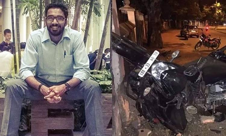 Sriram Venkataraman, ശ്രീറാം വെങ്കിട്ടരാമൻ, Car accident, വാഹനാപകടം, Journalist killed in accident, അപകടത്തിൽ മാധ്യമപ്രവർത്തകൻ കൊല്ലപ്പെട്ടു, iemalayalam, ഐഇ മലയാളം