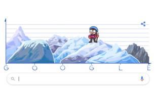 Google Doodle, Junko Tabei, ജുങ്കോ താബെയ്, Japanese mountaineer, ജാപ്പാനീസ് പർവതാരോഹക, എവറസ്റ്റ്, ഗൂഗിൾ ഡൂഡിൾ, Indian express Malayalam, ഇന്ത്യൻ എക്സ്പ്രസ് മലയാളം, IE Malayalam, ഐ ഇ മലയാളം