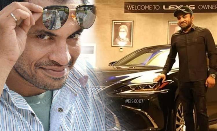 Soubin Shahir, സൗബിൻ ഷാഹിർ, Soubin Shahir new car, Soubin Shahir toyota hybrid lexus, Toyota lexus, Manju warrier, Manju warrier new car, Manju Warrier Range rover, മഞ്ജുവാര്യർ, ലെന, Lena, hector, MG hector