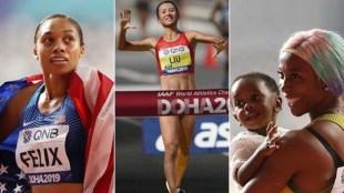 World Athletics Championship,ലോക അത്ലറ്റിക് ചാംപ്യന്ഷിപ്പ്, Mothers in World Athletics Championship,ലോക അത്ലറ്റിക് ചാംപ്യന്ഷിപ്പിലെ അമ്മമാര്, Mothers day, Shelly Aan fryse,