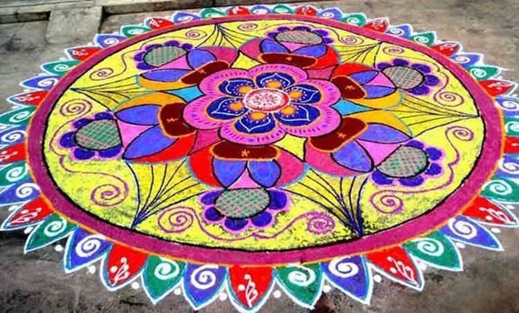 rangoli designs, രംഗോലി ഡിസൈൻ, rangoli designs 2019,രംഗോലി, rangoli designs images, ദീപാവലി, rangoli designs photos, ദീപാവലി ആഘോഷം, diwali, deepavali, diwali 2019, ദീപാവലി 2019, ie malayalam