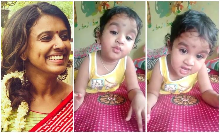 ലഗ് ജാ ഗലേ, Lag Ja Gale, sithara krishnakumar, സിതാര കൃഷ്ണകുമാർ, baby sings lag ja gale, ലഗ് ജാ ഗലേ പാടുന്ന കുട്ടി, viral video, വൈറൽ വീഡിയോ, ലതാ മങ്കേഷ്കര്. Lata Mangeshkar, IE Malayalam
