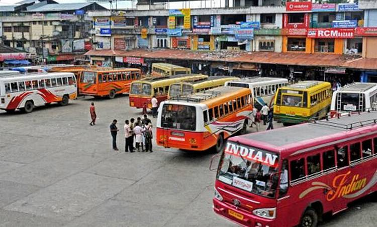 bus strike, ie malayalam