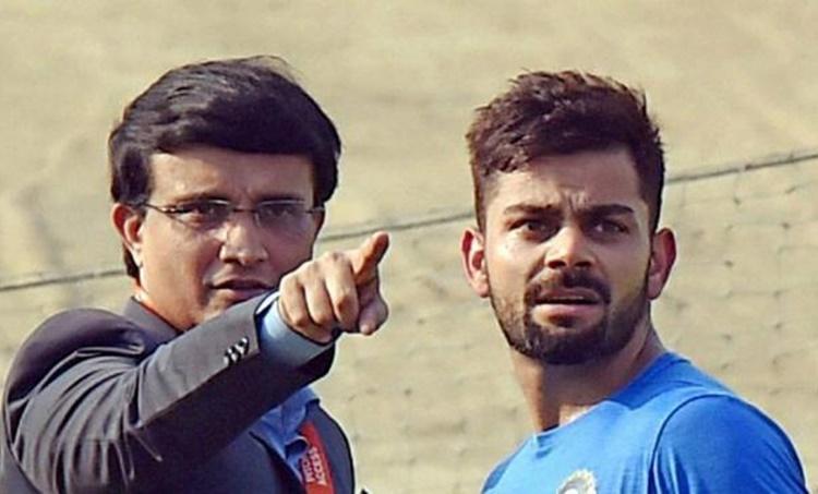 India vs Bangladesh, ഇന്ത്യ - ബംഗ്ലാദേശ്, ganguly, kohli, india score, ishanth sharma, pInk ball test, live score, day 2, virat kohli, ajinkya rahane, india take lead, ലൈവ്, പിങ്ക് ബോൾ ടെസ്റ്റ്, cricket news, ക്രിക്കറ്റ് വാർത്ത, ie malayalam, ഐഇ മലയാളം