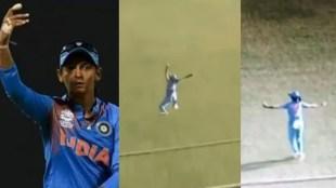 Harmanpreet Kaur, ഹർമൻപ്രീത് കൗർ, Harmanpreet Kaur catch, വീഡിയോ, Harmanpreet Kaur fielding, Harmanpreet Kaur takes stunner, Harmanpreet Kaur catch against West Indies, Harmanpreet Kaur best catch, Women cricket best catches, India Women vs West Indies Women, ie malayalam, ഐഇ മലയാളം