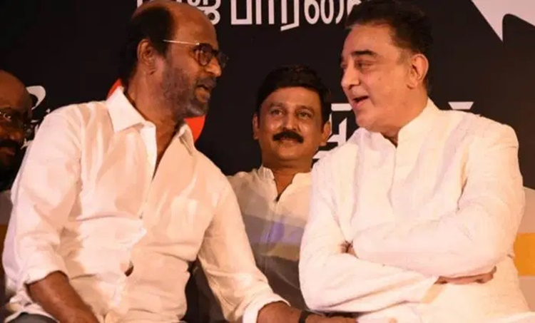 Rajinkanth and Kamal Haasan, രജനീകാന്ത്, രജിനികാന്ത്, കമൽഹാസൻ, Rajinikanth, Kamal Haasan, Rajini and Kamal, Kamal Haasan birthday event, Kamal Haasan birthday celebrations, Rajinikanth latest, Kamal Haasan latest