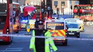 London shooting, london bridge shooting, man stabbed in London, London suspect shot, world news, Indian express