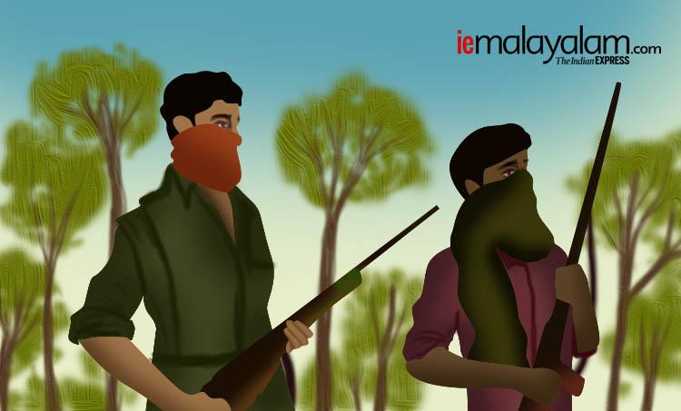 maoist, മാവോയിസ്റ്റ്, maoist encounter killings, മാവോയിസ്റ്റ് ഏറ്റുമുട്ടൽ കൊലപാതകങ്ങൾ, maoist encounter killings kerala, കേരളത്തിലെ മാവോയിസ്റ്റ് ഏറ്റുമുട്ടൽ കൊലപാതകങ്ങൾ, kerala police, കേരള പൊലീസ്, police encounter killings,fake maoist encounter, വ്യാജ മാവോയിസ്റ്റ് ഏറ്റുമുട്ടൽ, fake maoist encounter killings kerala, വ്യാജ മാവോയിസ്റ്റ് ഏറ്റുമുട്ടൽ കൊലപാതകങ്ങൾ,maoist encounter wayanad, മാവോയിസ്റ്റ് ഏറ്റുമുട്ടൽ വയനാട്, maoist encounter nilambur, മാവോയിസ്റ്റ് ഏറ്റുമുട്ടൽ നിലമ്പൂർ, maoist encounter vythiri, മാവോയിസ്റ്റ് ഏറ്റുമുട്ടൽ വൈത്തിരി, maoist encounter manjakkandy, മാവോയിസ്റ്റ് ഏറ്റുമുട്ടൽ മഞ്ചക്കണ്ടി, maoist cp jaleel, മാവോയിസ്റ്റ് സിപി ജലീൽ, maosit kuppu devaraj, മാവോയിസ്റ്റ് കുപ്പുദേവരാജ്, indian express malayalam, ഇന്ത്യൻ എക്സ്പ്രസ് മലയാളം, ie malayalam, ഐഇ മലയാളം