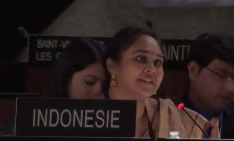 UN meet in France, India, Ananya Agarwal , പാക്കിസ്ഥാൻ, അനന്യ അഗർവാൾ, Latest News, Malayalam News, Pakistan, Terrorism, Jammu and Kashmir, iemalayalam, ഐഇ മലയാളം