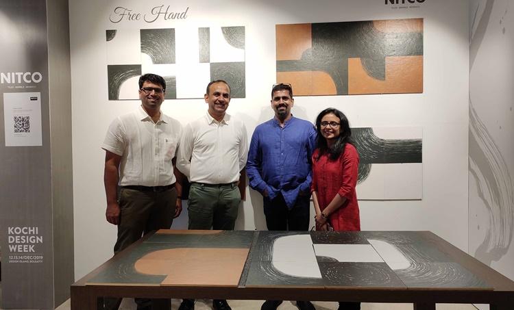 Kochi Design Week 2019, കൊച്ചി ഡിസൈന് വീക്ക് 2019, Mobile App for tile design, ടൈൽ ഡിസൈനിനു മൊബൈല് ആപ്പ്, Free Hand, ഫ്രീ ഹാന്ഡ്, Mobile App, മൊബൈല് ആപ്പ്, IE Malayalam, ഐഇ മലയാളം