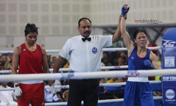 Mary Kom, മേരികാം, Olympic qualifiers, ഒളിമ്പിക്സ് യോഗ്യത, നിഖാത് സരീൻ, Nikhat Zareen, iemalayalam