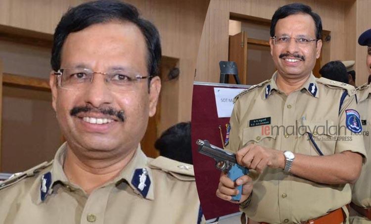 Hyderabadencounter,ഹെെദരാബാദ് ഏറ്റുമുട്ടല് കൊല,Hyderabad rape case encounter,rape,ഹെെദരാബാദ് ബലാത്സംഗ കേസ്ഏറ്റുമുട്ടല് കൊല,Hyderabad rape case,ഹെെദരാബാദ് ബലാത്സംഗ കേസ്, VC Sajjanar,വി.സി. സജ്ജനാർ, Police commissioner VC Sajjanar,പൊലീസ് കമ്മിഷണര് വി.സി. സജ്ജനാർ, IE Malayalam, ഐഇ മലയാളം