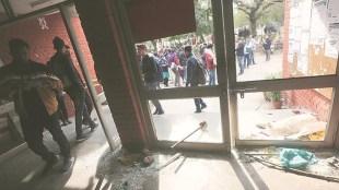 JNU violence, ജെഎൻയു അതിക്രമം, JNU CCTVs vandalised, ജെഎൻയുവിലെ സിസിടിവികൾ തകർത്തു, JNU RTI, RTI reply on JNU, JNU administration, indian express, iemalayalam, ഐഇ മലയാളം