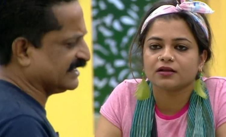 Rajith and Jesla Bigg Boss