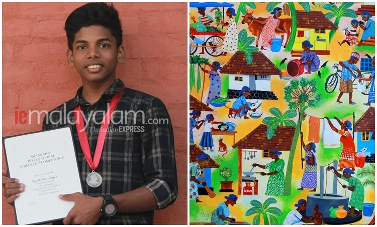 Anujath, അനുജാത്, Anujath award, Anujath wins Shanker's international award, Indian express malayalam, IE malayalam, ഇന്ത്യൻ എക്സ്പ്രസ് മലയാളം, ഐ ഇ മലയാളം