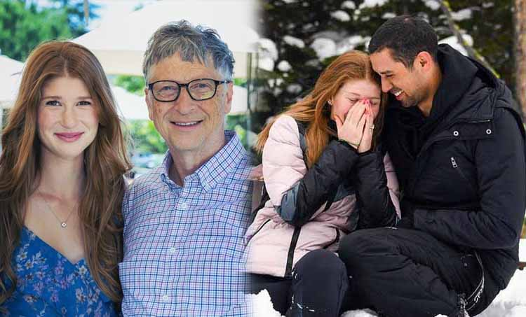 Nayel Nassar, Bill Gates, Jennifer Gates, Jennifer Gates engagement, Melinda Gates, Bill Gates daughter, ബില് ഗേറ്റ്സ്, നയേല് നാസര്, ലോകത്തെ കോടീശ്വരന്മാര്, കോടീശ്വരന്