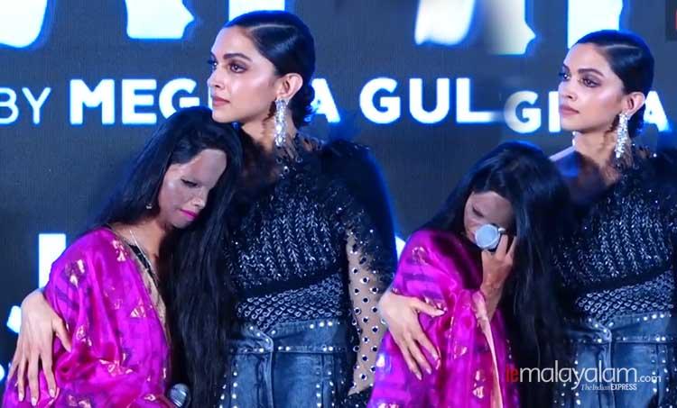 Deepika Padukone, Chhapaak, Meghna Gulzar, Deepika, Malti, Laxmi Agarwal, Deepika Padukone movies, Deepika Padukone latest news, Deepika Padukone news, Deepika Padukone films, ദീപിക പദുകോൺ, ചപ്പാക്ക്, മേഘ്ന ഗുൽസാർ, ലക്ഷ്മി അഗർവാൾ, ആസിഡ് ആക്രമണം, പുതിയ ചിത്രം, സിനിമ, Entertainment, സിനിമാ വാര്ത്ത, ഫിലിം ന്യൂസ്, Film News, കേരള ന്യൂസ്, കേരള വാര്ത്ത, Kerala News, മലയാളം ന്യൂസ്, മലയാളം വാര്ത്ത, Malayalam News, Breaking News, പ്രധാന വാര്ത്തകള്, ഐ ഇ മലയാളം, iemalayalam, indian express malayalam, ഇന്ത്യന് എക്സ്പ്രസ്സ് മലയാളം