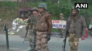 jammu and kashmir firing. ജമ്മു കശ്മീരിൽ വെടിവെപ്പ്, J&K militant fires at police, Nagrota militant firing, J&K police, Indian express, iemalayalam, ഐഇ മലയാളം