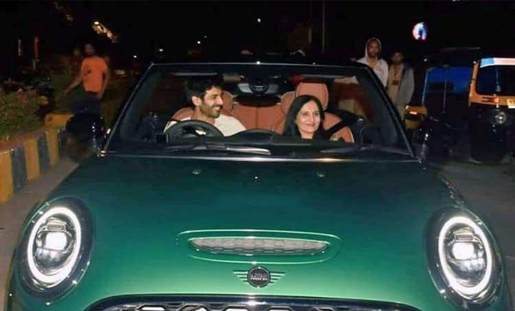 Bhool Bhulaiyaa 2, Dostana 2, kartik aaryan, Kartik Aaryan family, Kartik Aaryan family pics, Kartik Aaryan mother car, Love Aaj Kal, Love Aaj Kal trailer, Pati Patni Aur Who
