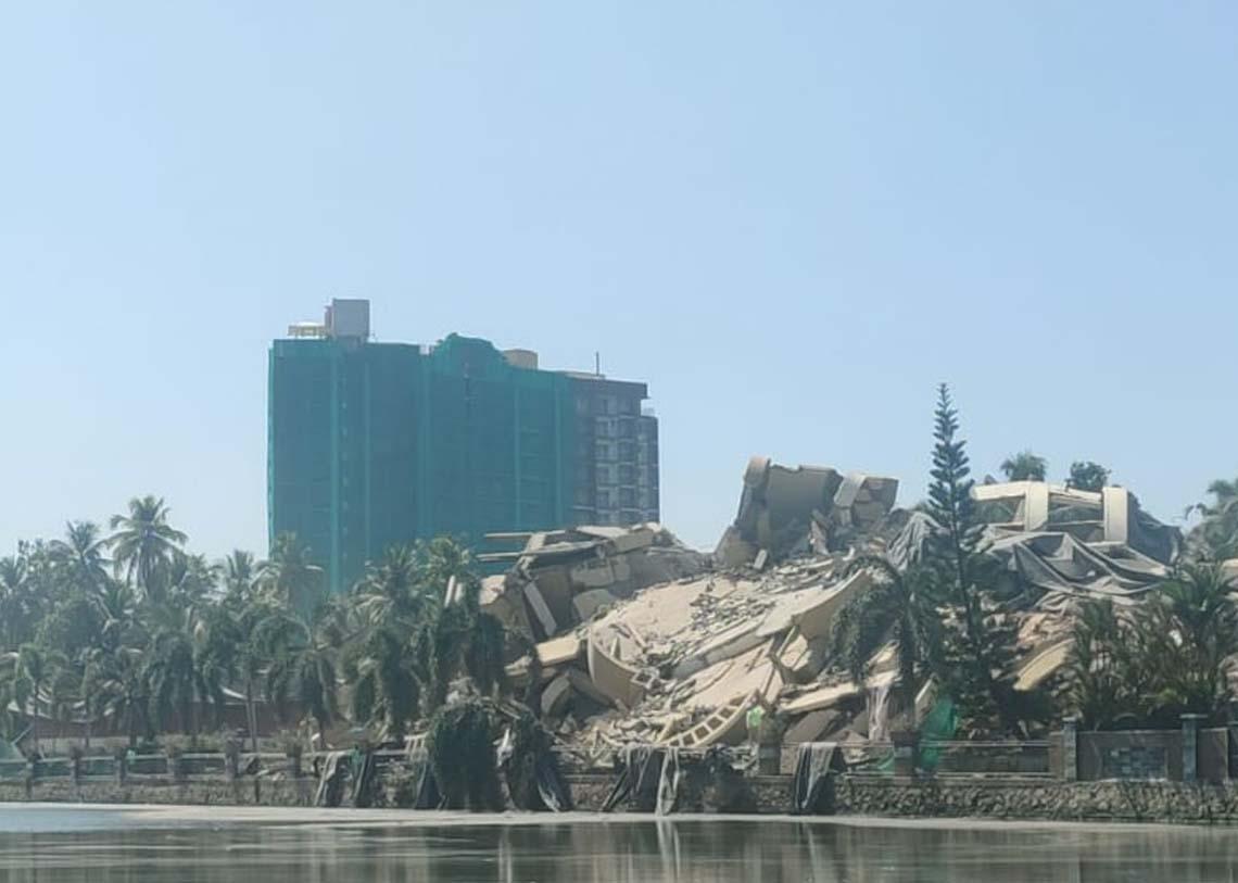 maradu flat, ie malayalam