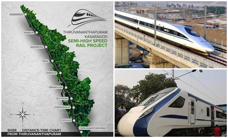 aerial survey,Kasaragod-Thiruvananthapuram semi high-speed rail corridor, കാസർഗോഡ്-തിരുവനന്തപുരം സെമി അതിവേഗ റെയില് ഇടനാഴി, 'Silver Line' project, സിൽവർ ലൈൻ പദ്ധതി, Chief Minister Pinarayi Vijayan, മുഖ്യമന്ത്രി പിണറായി വിജയൻ, K-Rail, കെ-റെയിൽ, The Kerala Rail Development Corporation,കേരള റെയിൽ വികസന കോർപറേഷൻ, Ministry of Railway,റെയിൽവേ മന്ത്രാലയം, IE Malayalam,ഐഇ മലയാളം