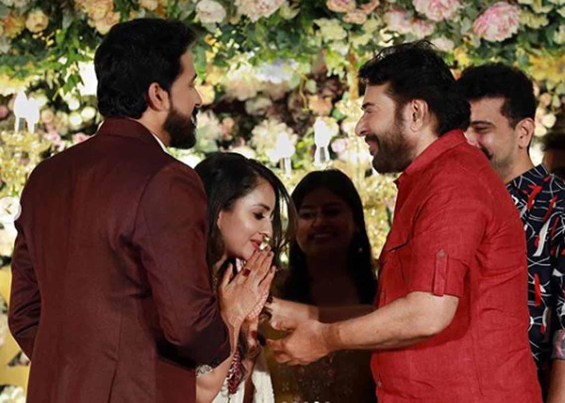 Bhama Wedding reception photos