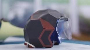 Foldable helmet, മടക്കാവുന്ന ഹെൽമറ്റ്, helmet model, new helmet, helmet innovations, പുതിയ ഹെൽമറ്റ്, ie malayalam, ഐഇ മലയാളം