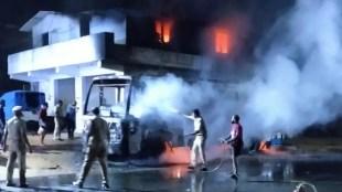 ബസ്, ബസിന് തീപിടിച്ചു, കുമളി, kumily bus, bus caught fire, Bus accident, iemalayalam, ഐഇ മലയാളം