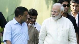 Arvind Kejriwal, അരവിന്ദ് കേജ്രിവാൾ, Narendra Modi, നരേന്ദ്ര മോദി, Kejriwal Modi meeting, Modi Kejriwal meet, Kejriwal Modi Parliament, Delhi violence, amit shah, iemalayalam, ഐഇ മലയാളം