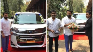 Mohanlal, Mohanlal new car, Toyota Vellfire, Vellfire price, Toyota Vellfire price, മോഹൻലാൽ, ടൊയോട്ട വെൽഫയർ, Indian express malayalam, IE Malayalam
