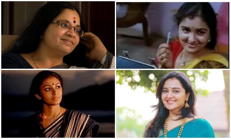 Bhagyalakshmi , manju warrier, shobana, urvashi lady superstars of malayam cinema